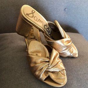Sam Edelman Oda rose gold mule size 8 - new